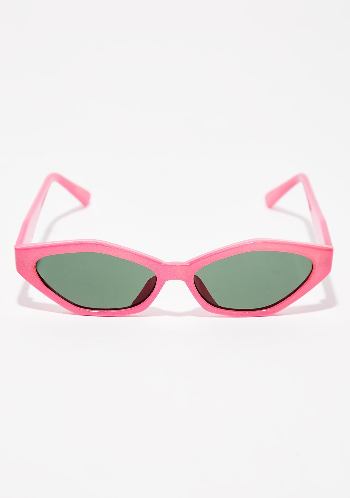 Sugar Stop N' Stare Oval Sunglasses