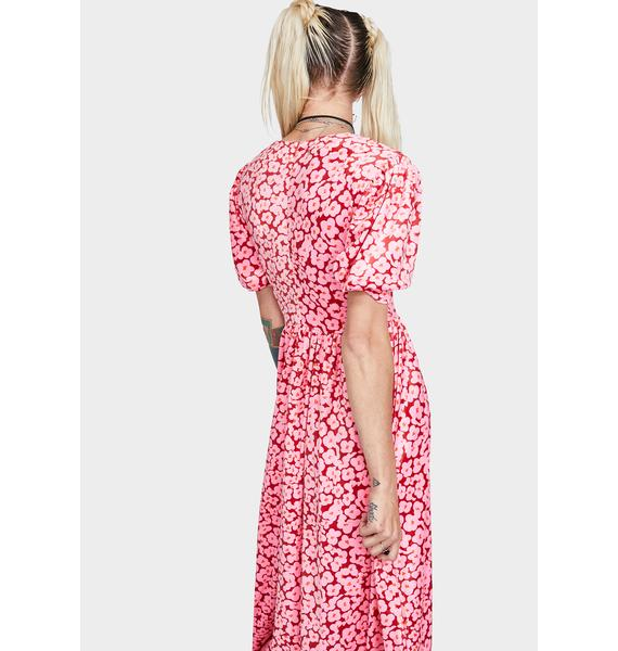 Little Sunny Bite Floral Long Dress