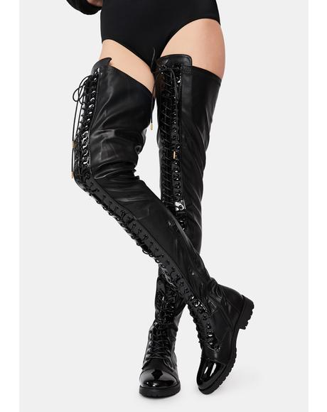 Retention Thigh High Boots