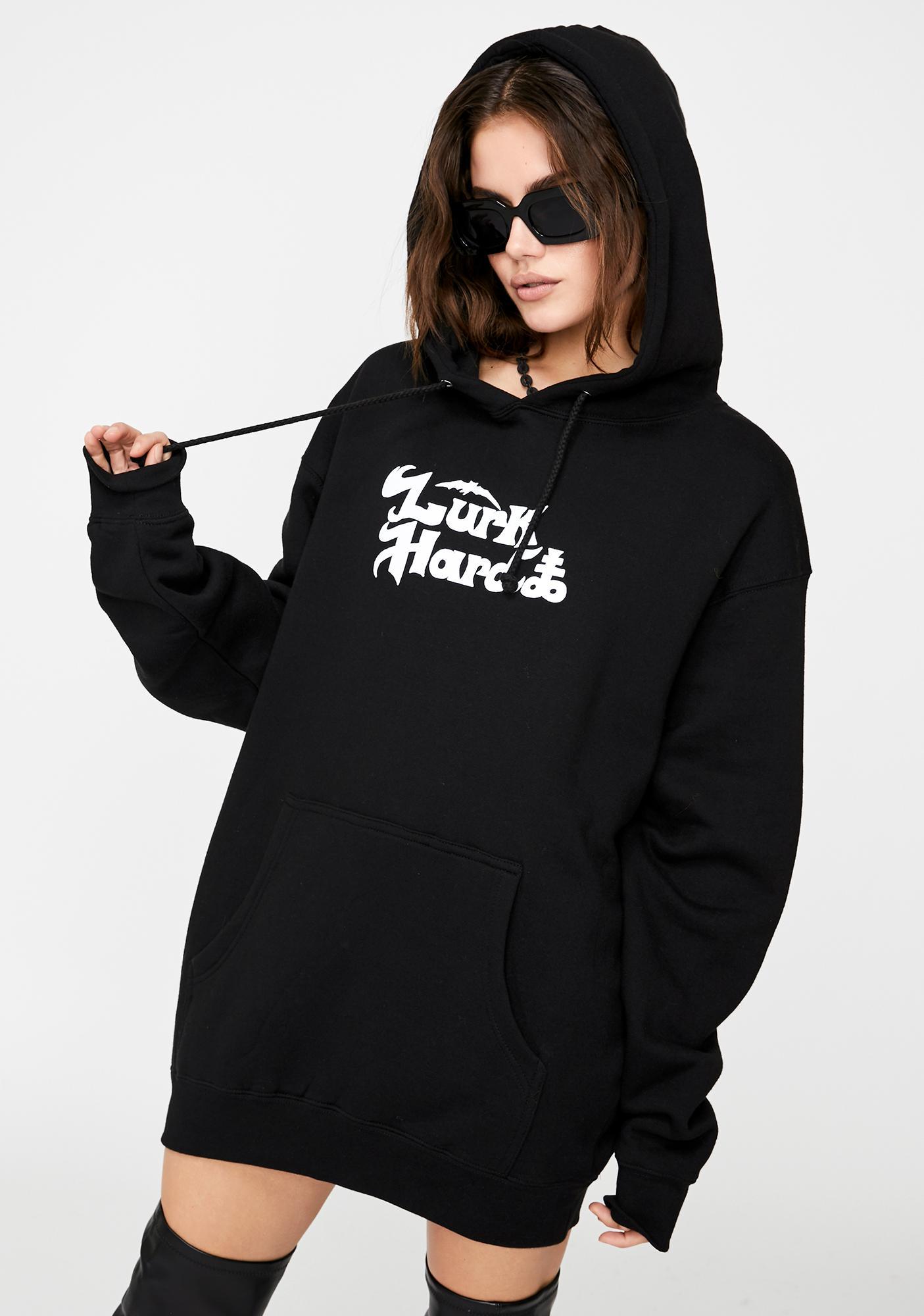 Lurk Hard Black Diamond Pullover Hoodie