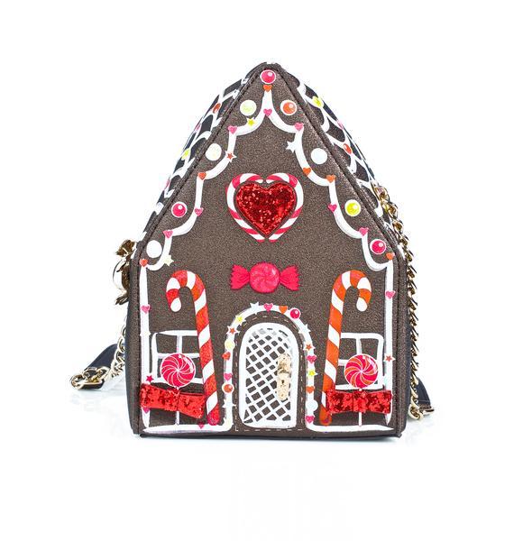 Betsey Johnson Home Sweet Home Crossbody Bag