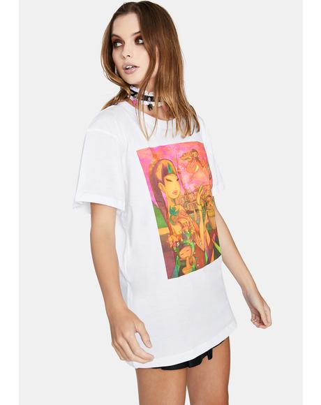 Pearl Painting Graphic Tee