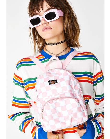Candy Checkerboard Mini Backpack