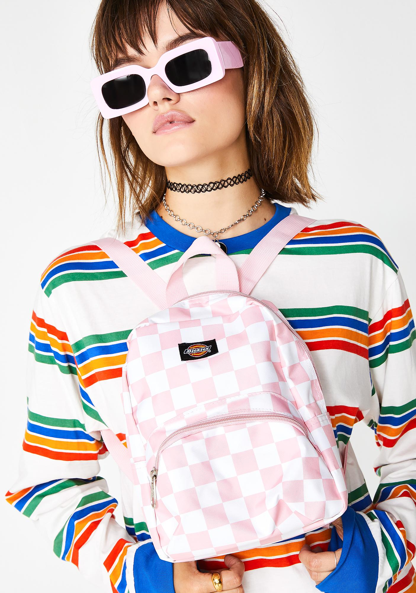 c5955acb6f Dickies Candy Checkerboard Mini Backpack