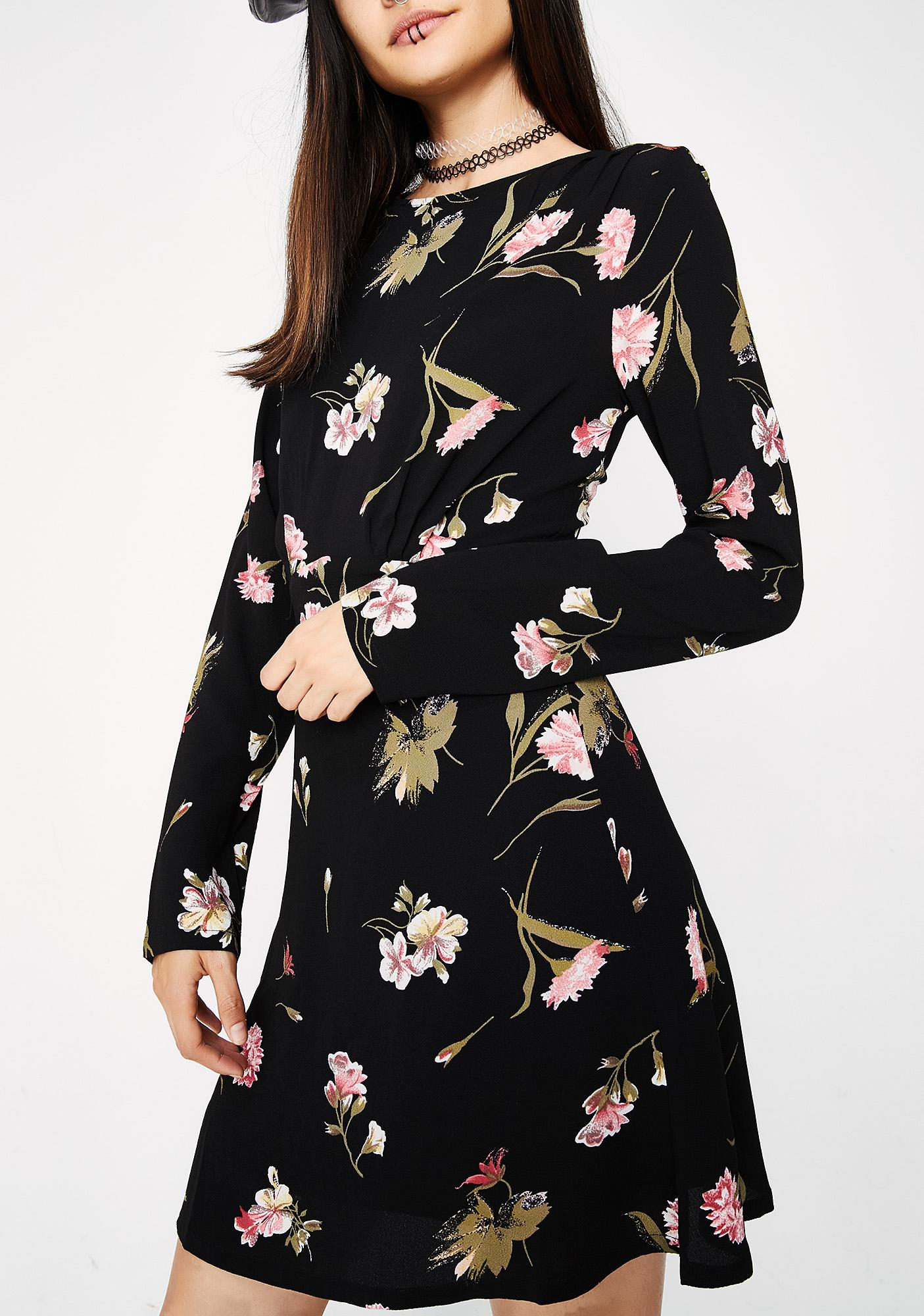 Throwing Flowers Dress