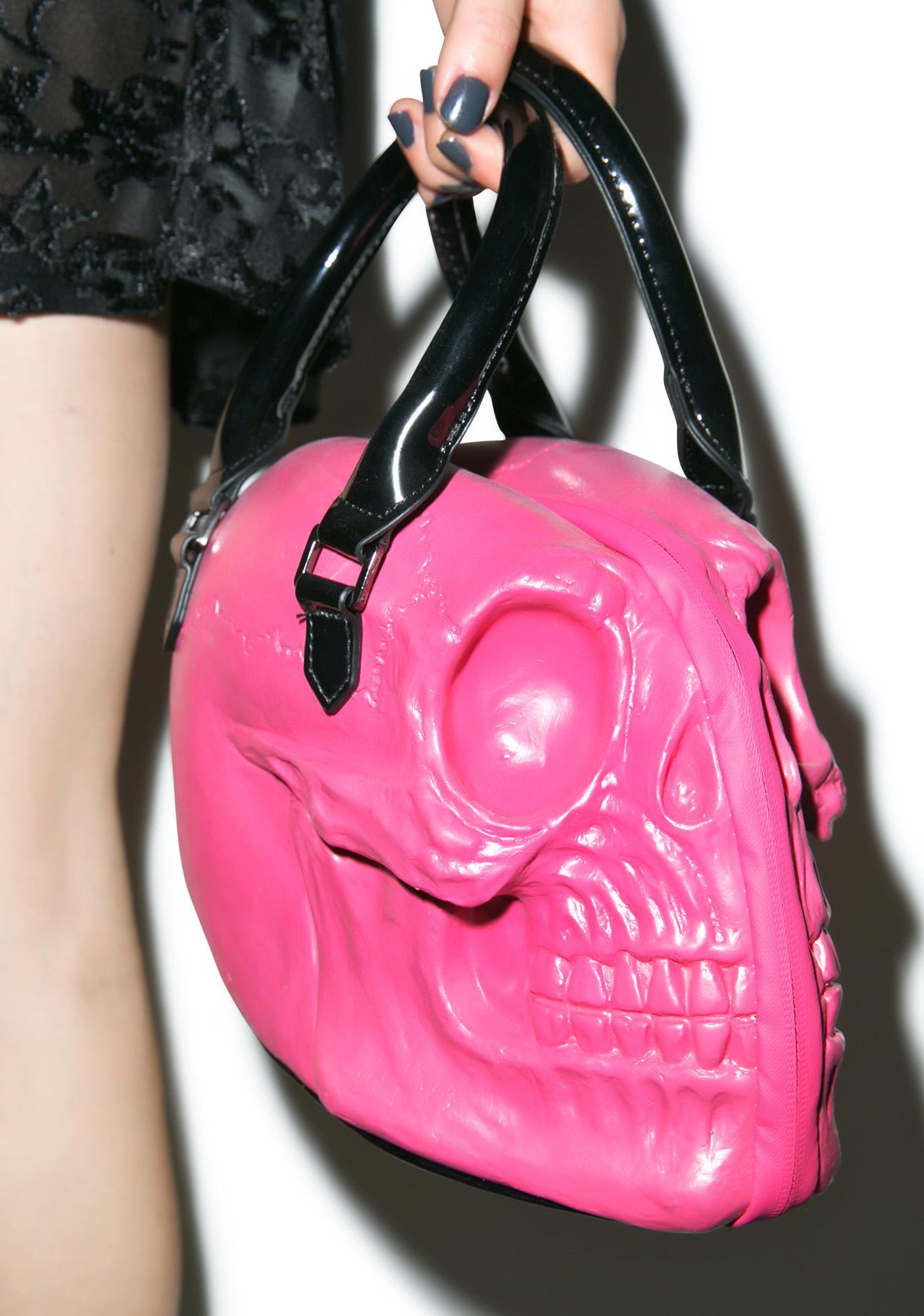 Kreepsville 666 Skull Collection Hand Bag