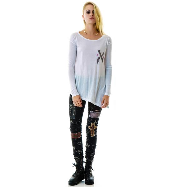 Junk Food Clothing Sin Is In Long Sleeve Tee