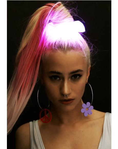 Pinky Popstarr Light Up Scrunchie