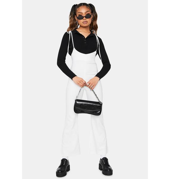 Cloud Chic Suspender Jumpsuit