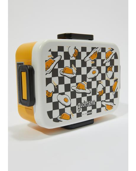 Eggcellent Gudetama Bento Lunch Box