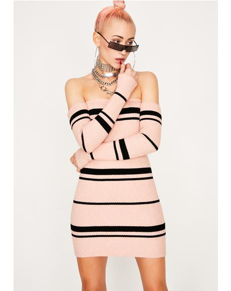 Gimme The Tea Stripe Dress