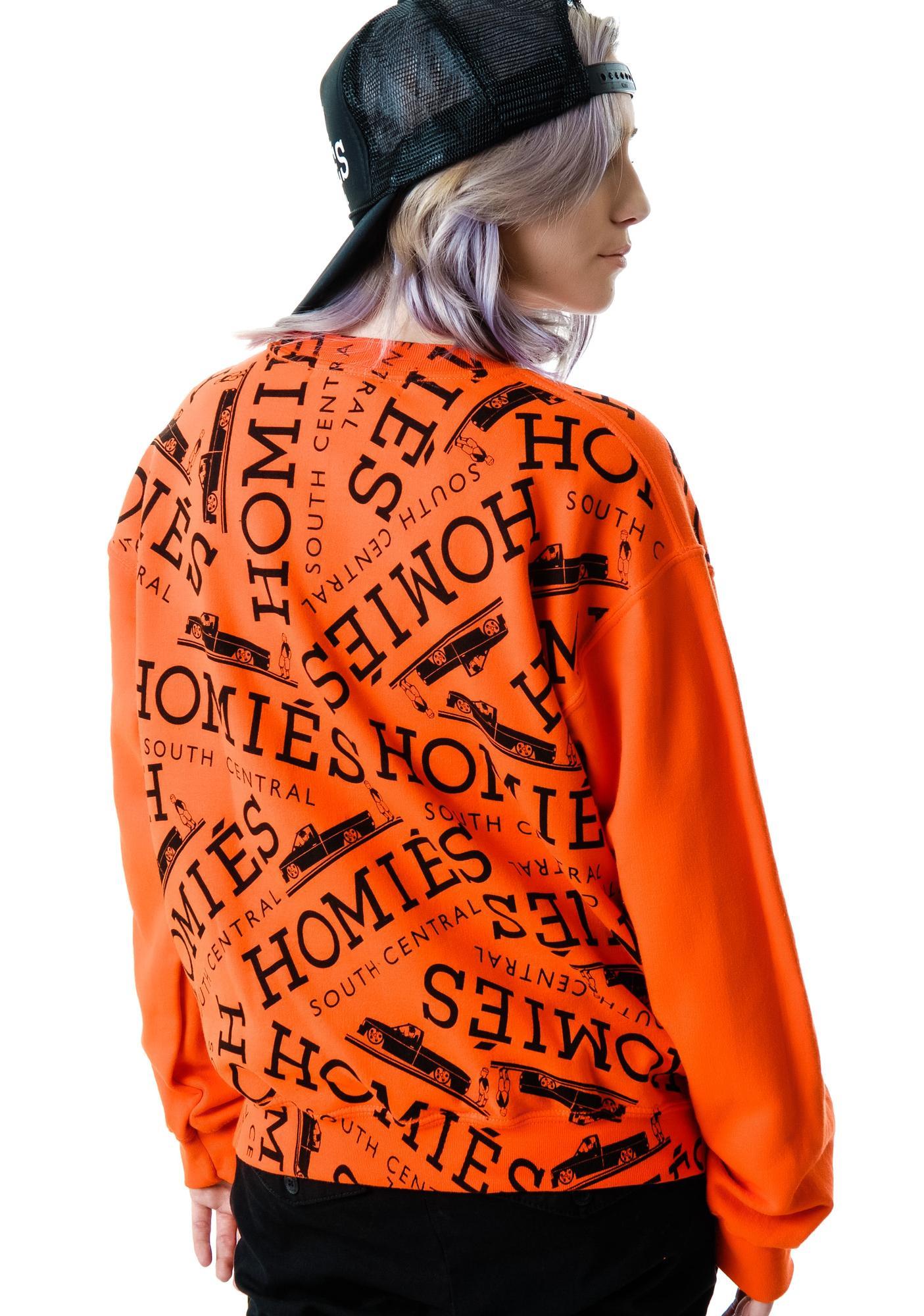 Brian Lichtenberg Homies Graffiti Sweatshirt