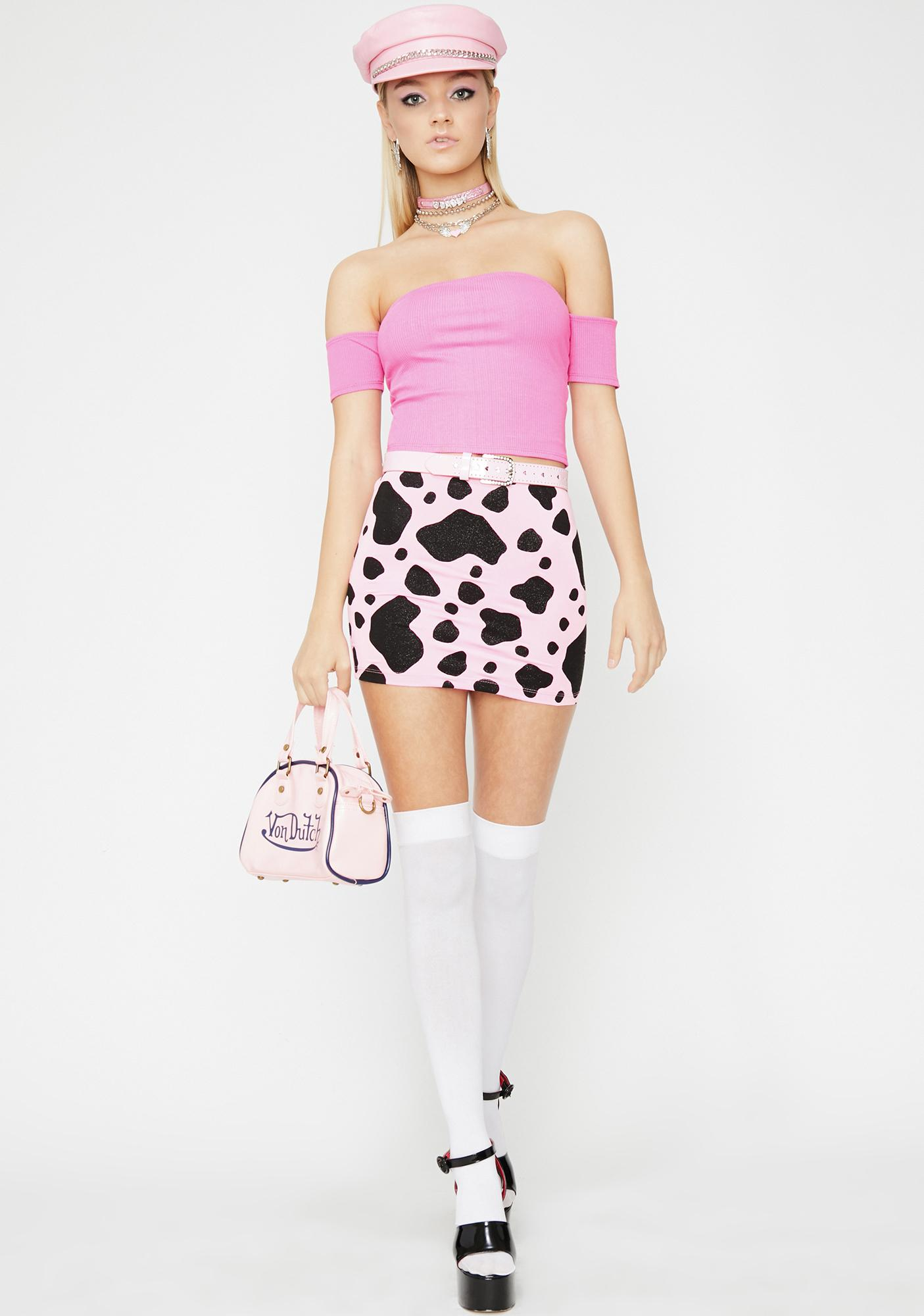 Candy Boo Thang Crop Top