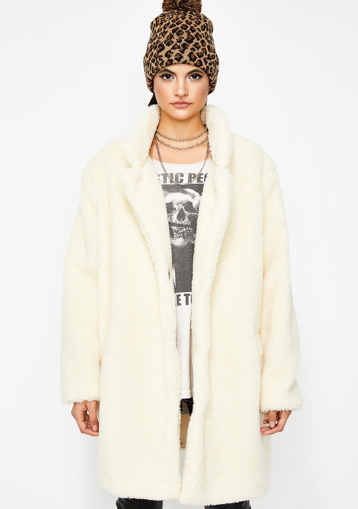 Nothin' Nice Teddy Coat