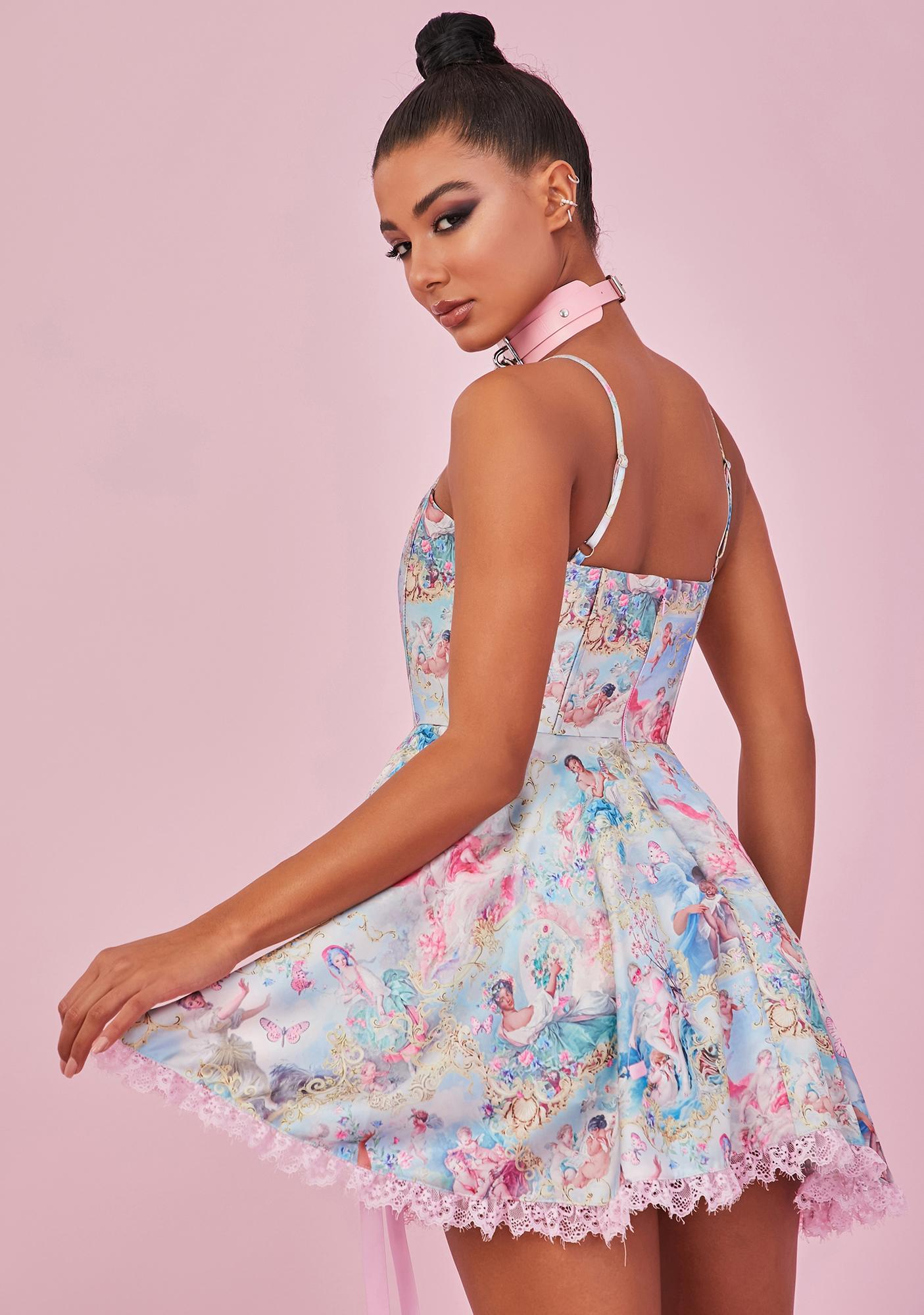 Sugar Thrillz Divine Lush Opulence Corset Dress