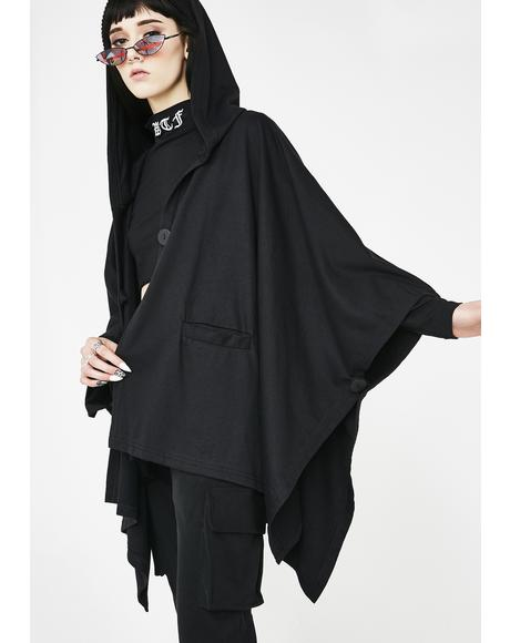 Atomic Madness Hooded Poncho