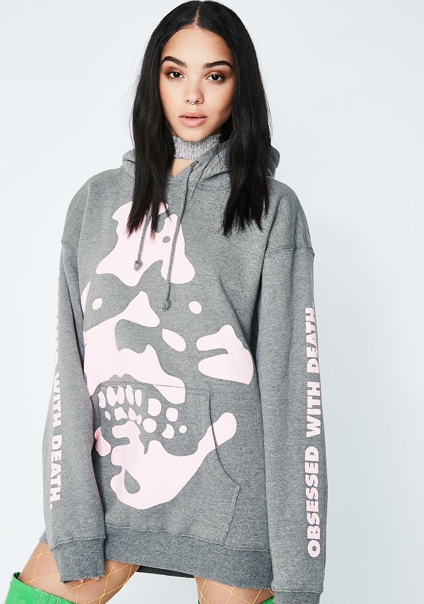 Flying Coffin Obsessed Pullover