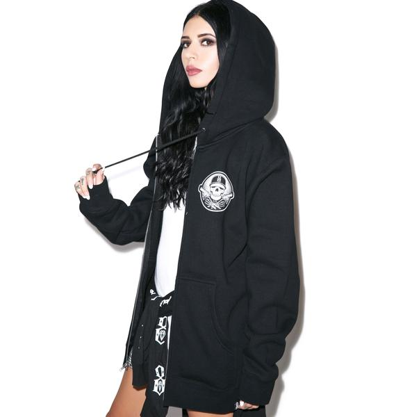Rebel8 Any Means Zip Hoodie