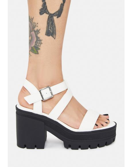 Pure Shifted Vibes Single Strap Sandals