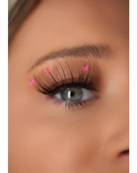 Pink Flutter Lashes