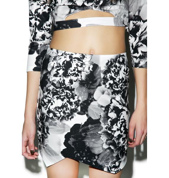 Tiger Mist Black Blossom Skirt