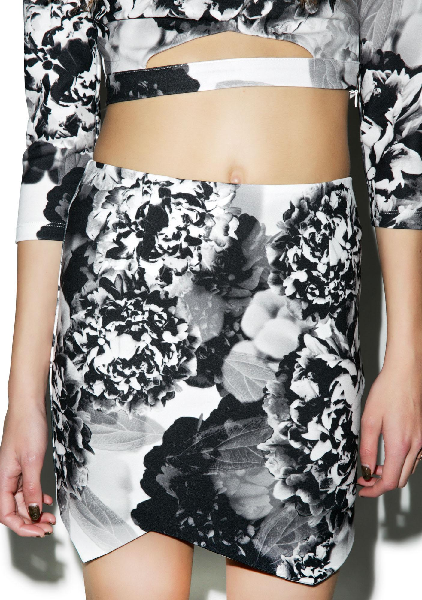 Tiger Mist Black Blossom Skirt