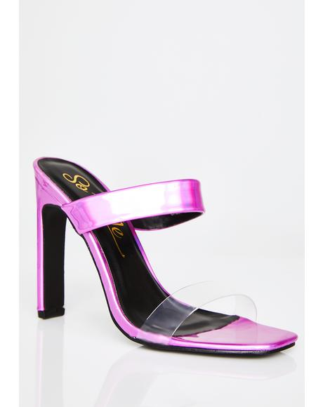 Pink Diamonds Sweet Talker Heels