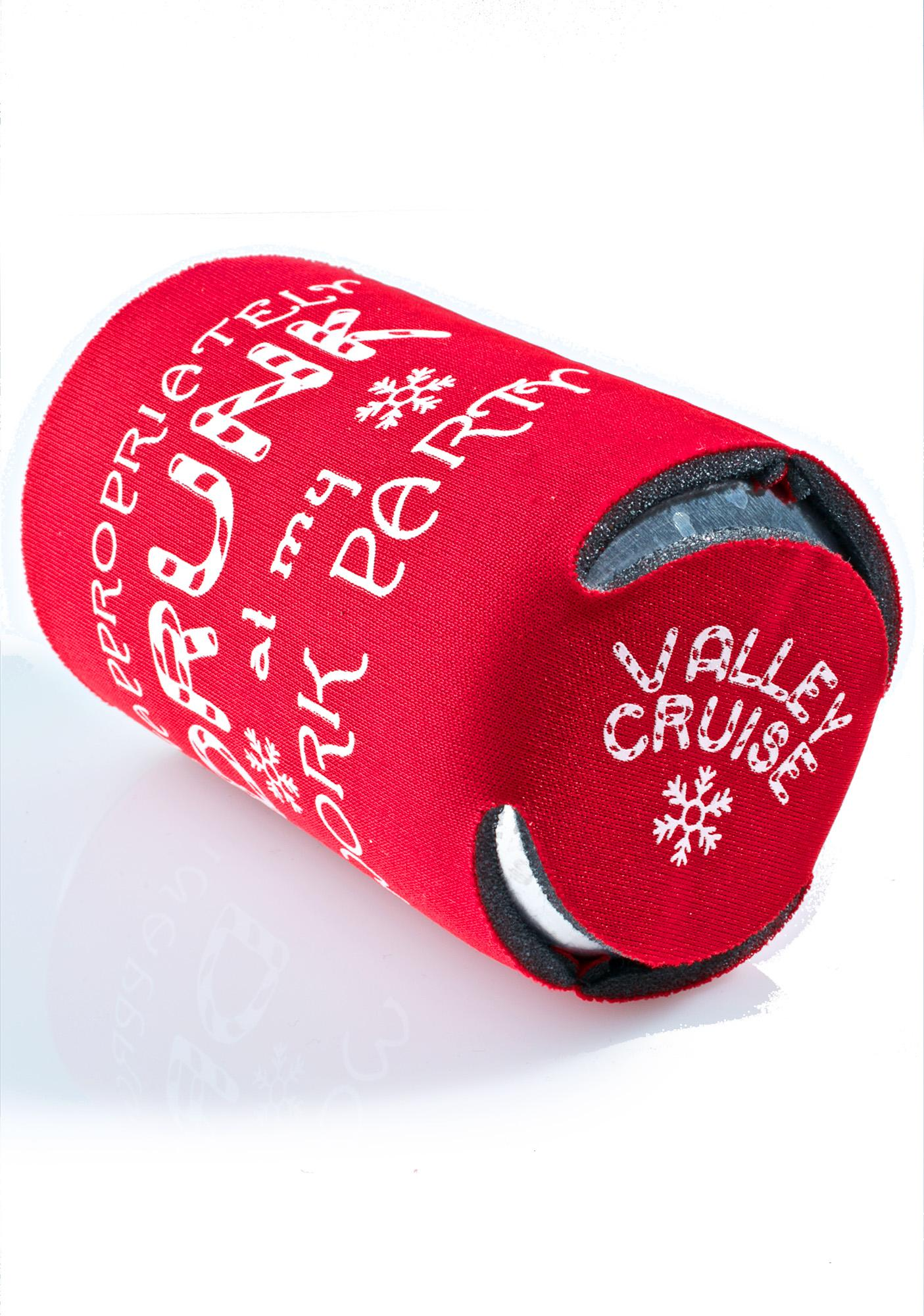 Valley Cruise Press Crunk With My Coworkers Beer Coozie