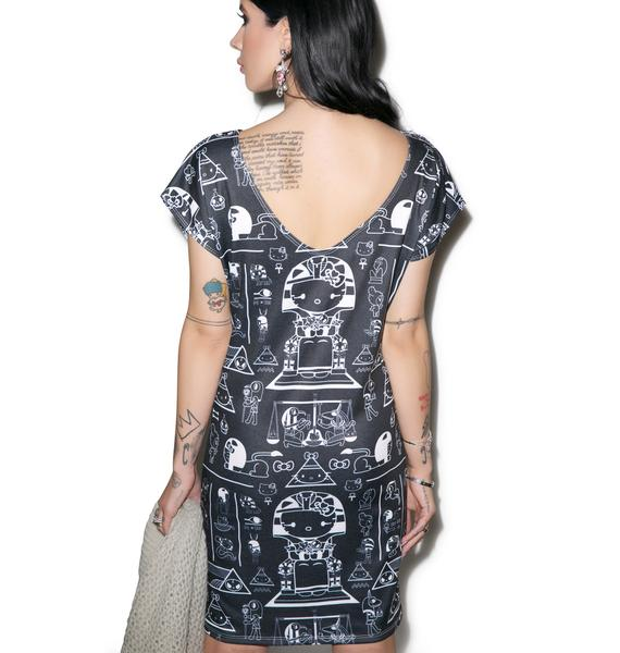 Japan L.A. Pharaoh Kitty Tunic Dress