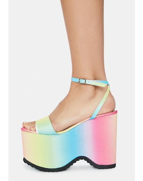 I Have Needs Platform Sandals