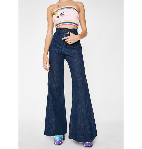 Show Me Your Mumu Groovy Girl Flare Jeans