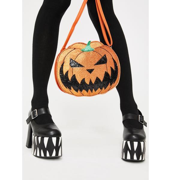 Jacked Ur Lantern Crossbody Bag