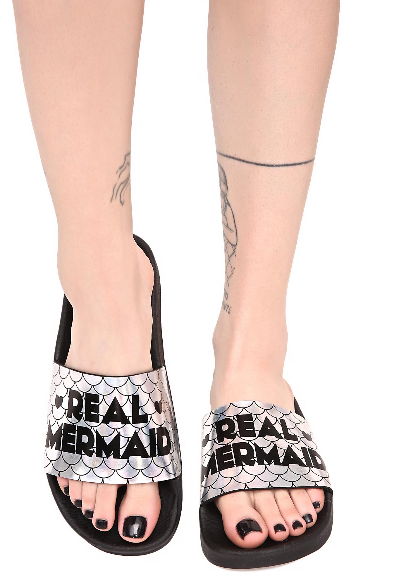 The White Brand Real Mermaid Slides