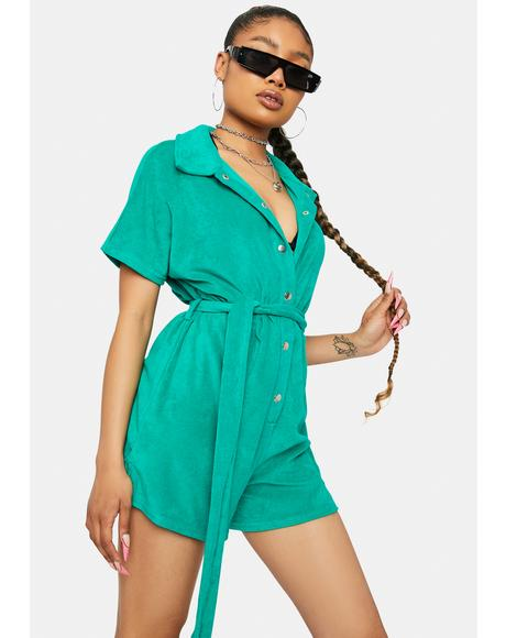 Keep The Faith Short Sleeve Romper