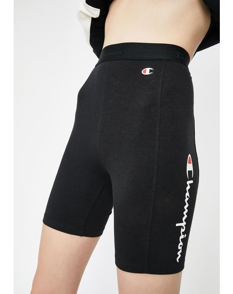 Black Everyday Bike Shorts