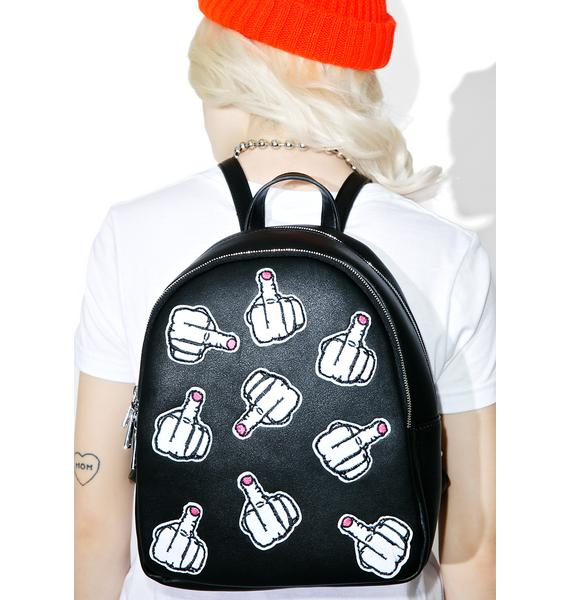 Current Mood Fuck Off Backpack