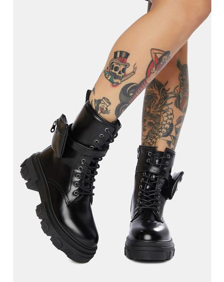 Imagine That Pocket Combat Boots