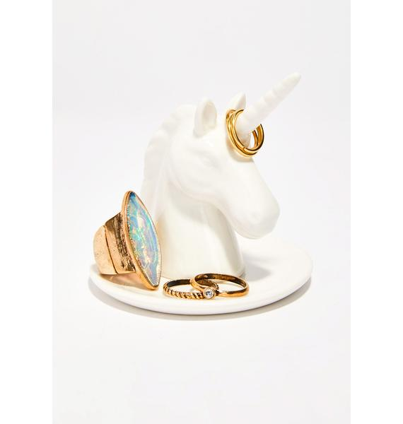 Bewitched Unicorn Ring Holder