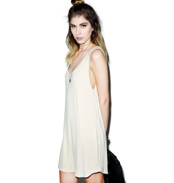 BLQ BASIQ Keepin' It Simple Tank Dress