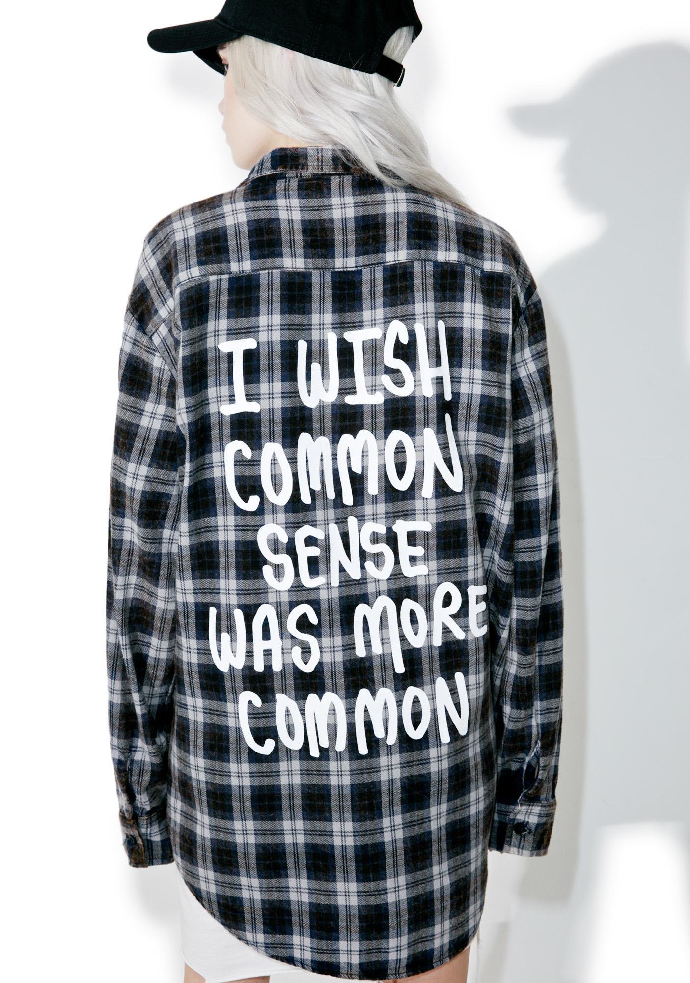 Jac Vanek Common Sense Flannel