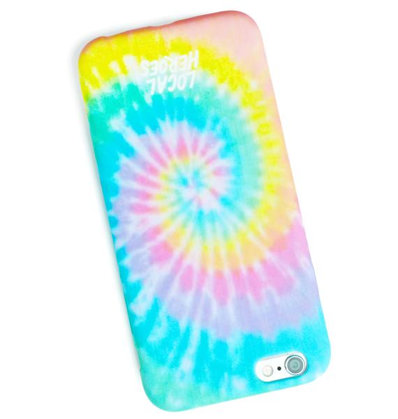 Local Heroes Tie Dye Case iPhone 6 Case