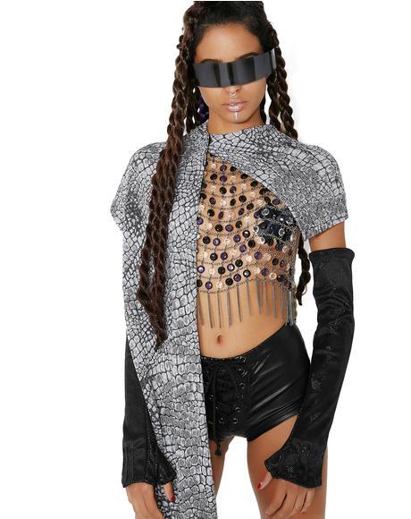 Ninja Textured Hood