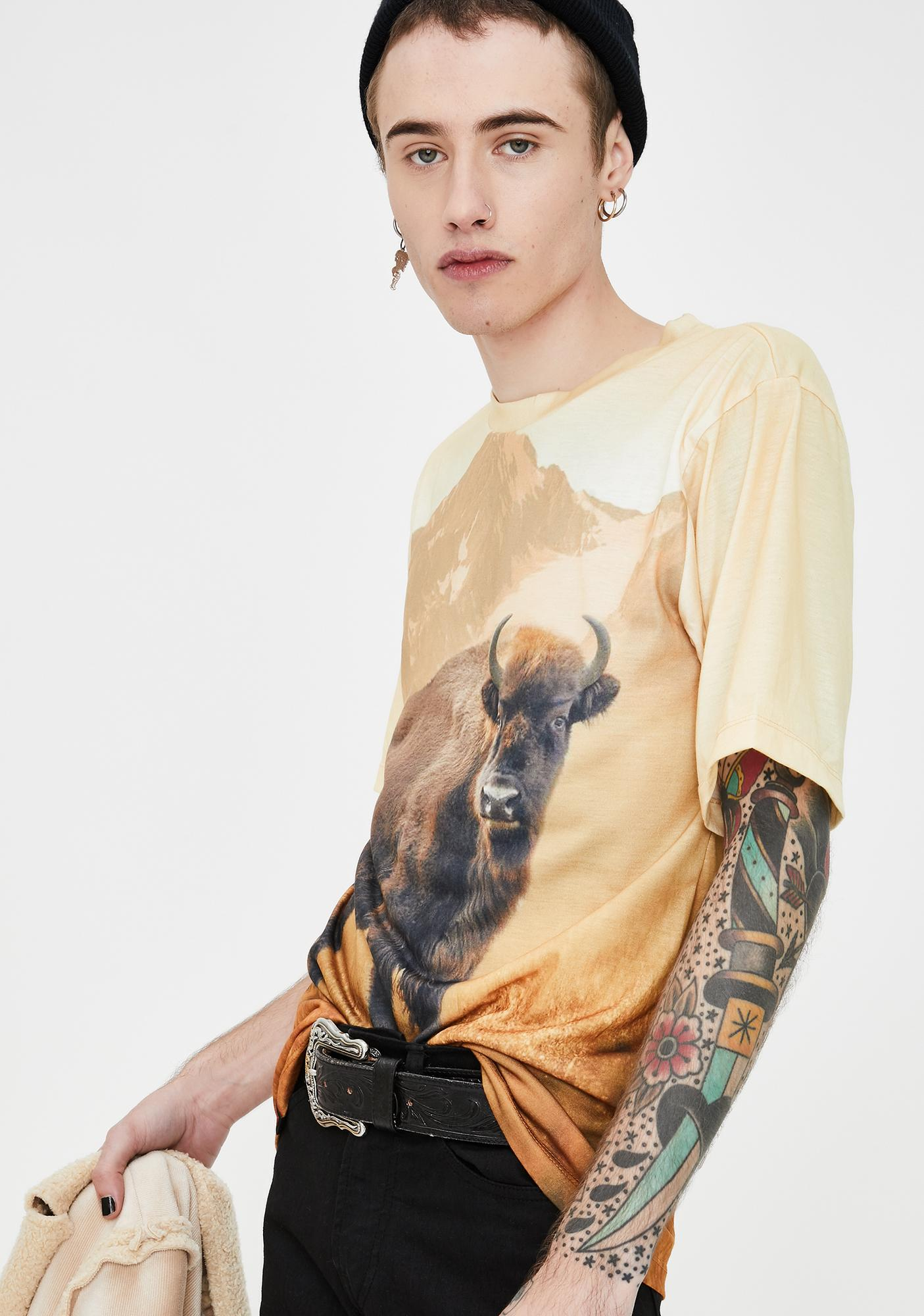 Wildkind Bison Graphic Tee