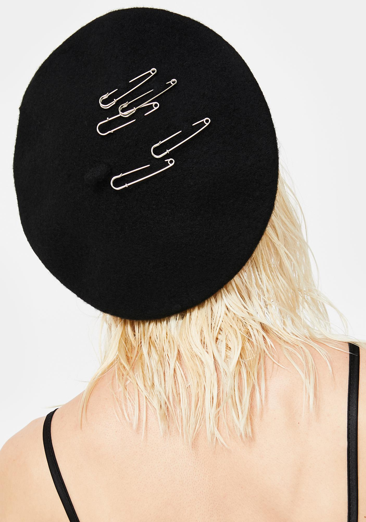 Sharp Thoughts Beret