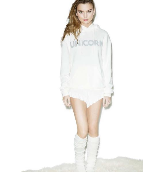 Wildfox Couture Straight Up Cuddles Hoodie