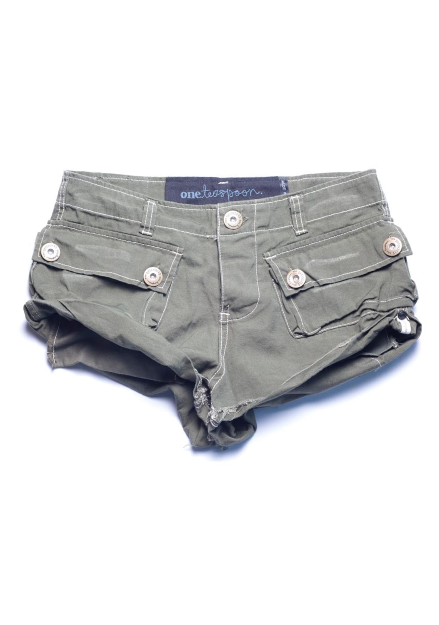 One Teaspoon Defender Shorts