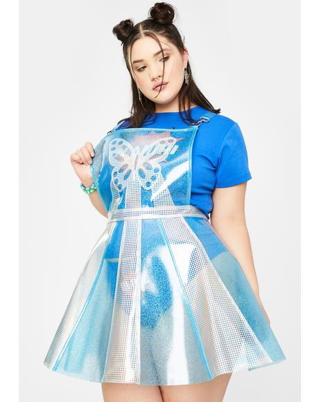 Ur Pixie Gurl Hologram Overall Dress
