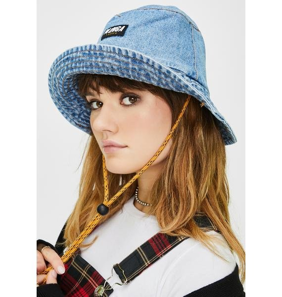 Minga Denim Bucket Hat