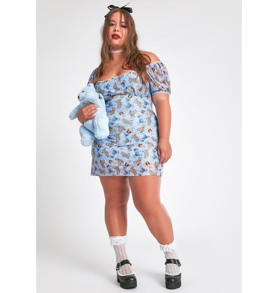 dELiA*s by Dolls Kill Soft Duh Double Stuffed Mini Dress