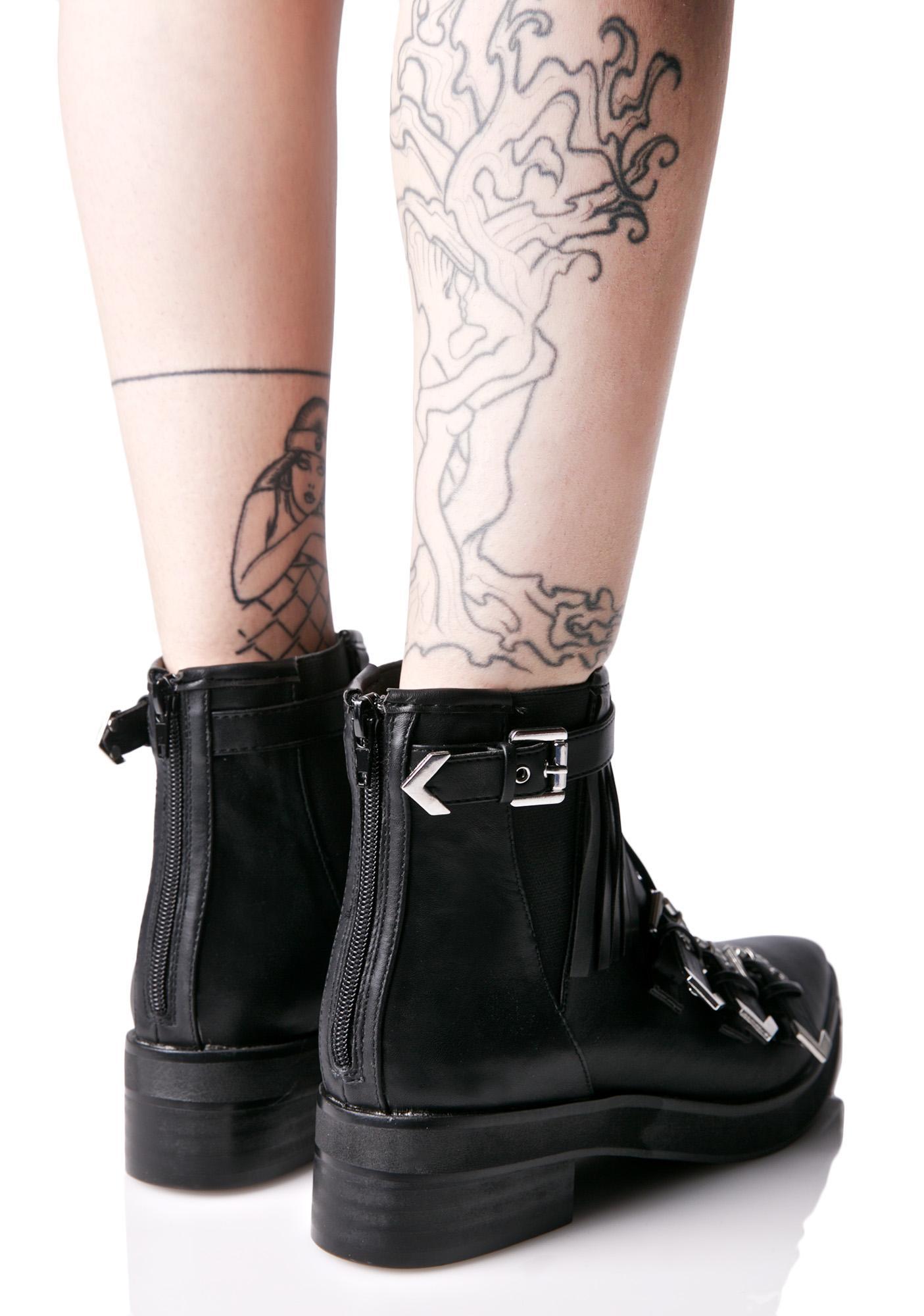 Matisse  Turner Buckled Boots